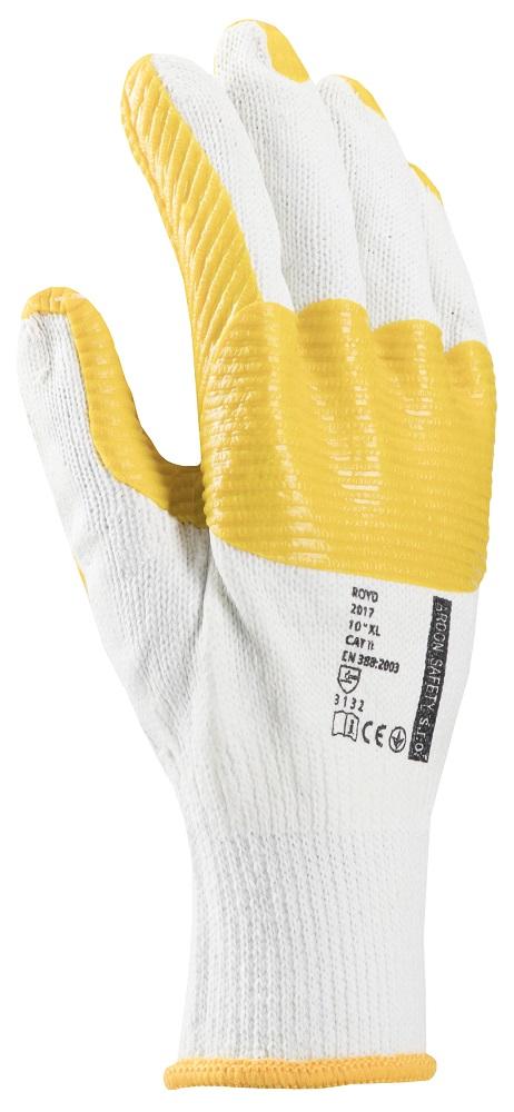 Pracovní rukavice ROYD na stojan 10