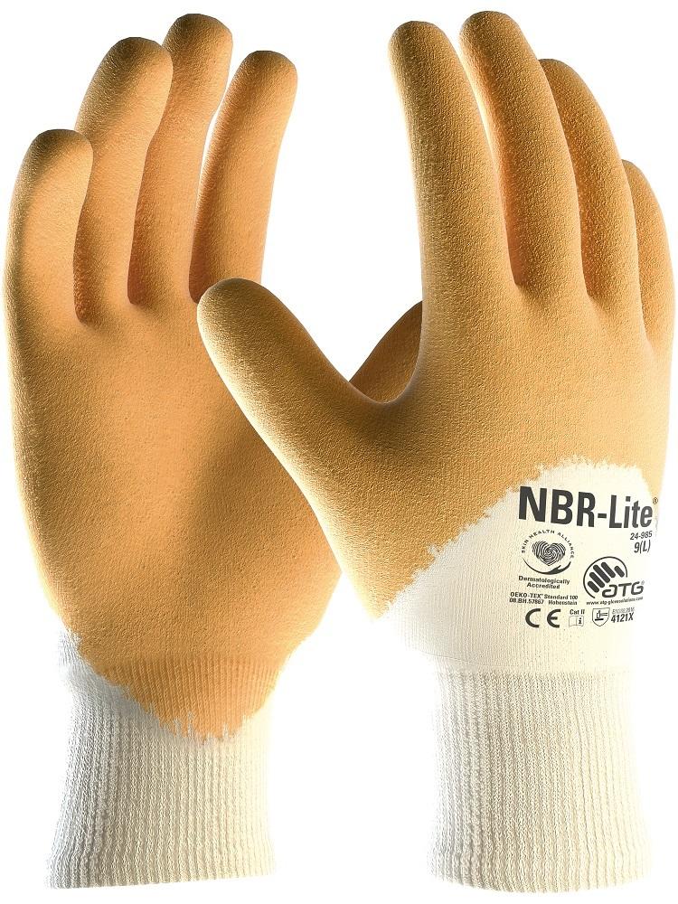 Rukavice NBR-LITE 34-985 09