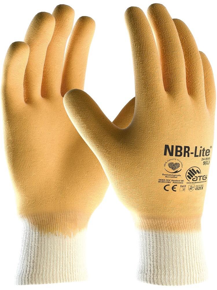 Rukavice NBR-LITE 24-986 08