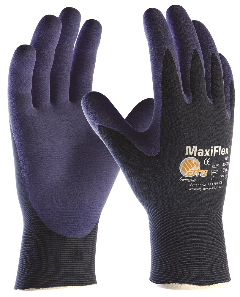 Rukavice MAXIFLEX ELITE 34-274 09/SPE