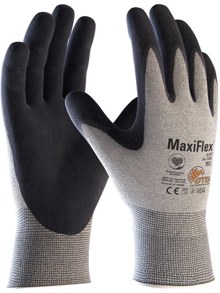 Rukavice MAXIFLEX ELITE 34-774 B (ESD) 08