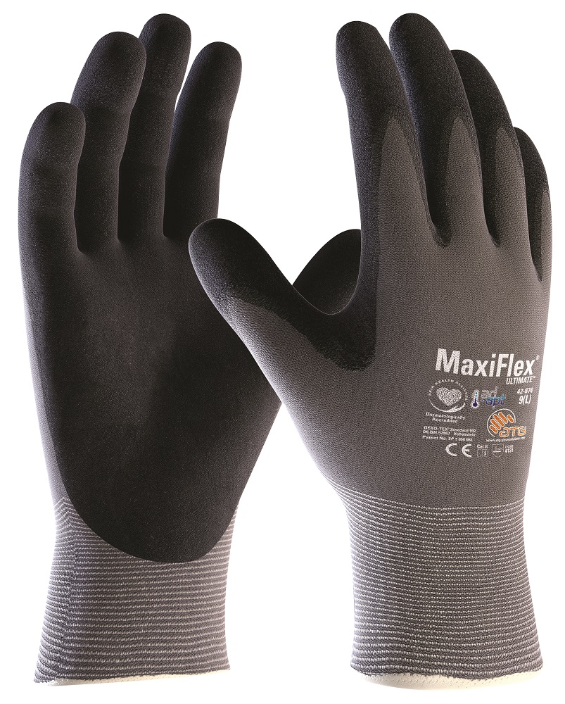 Rukavice MAXIFLEX ULTIMATE 42-874 AD-APT 07/SPE