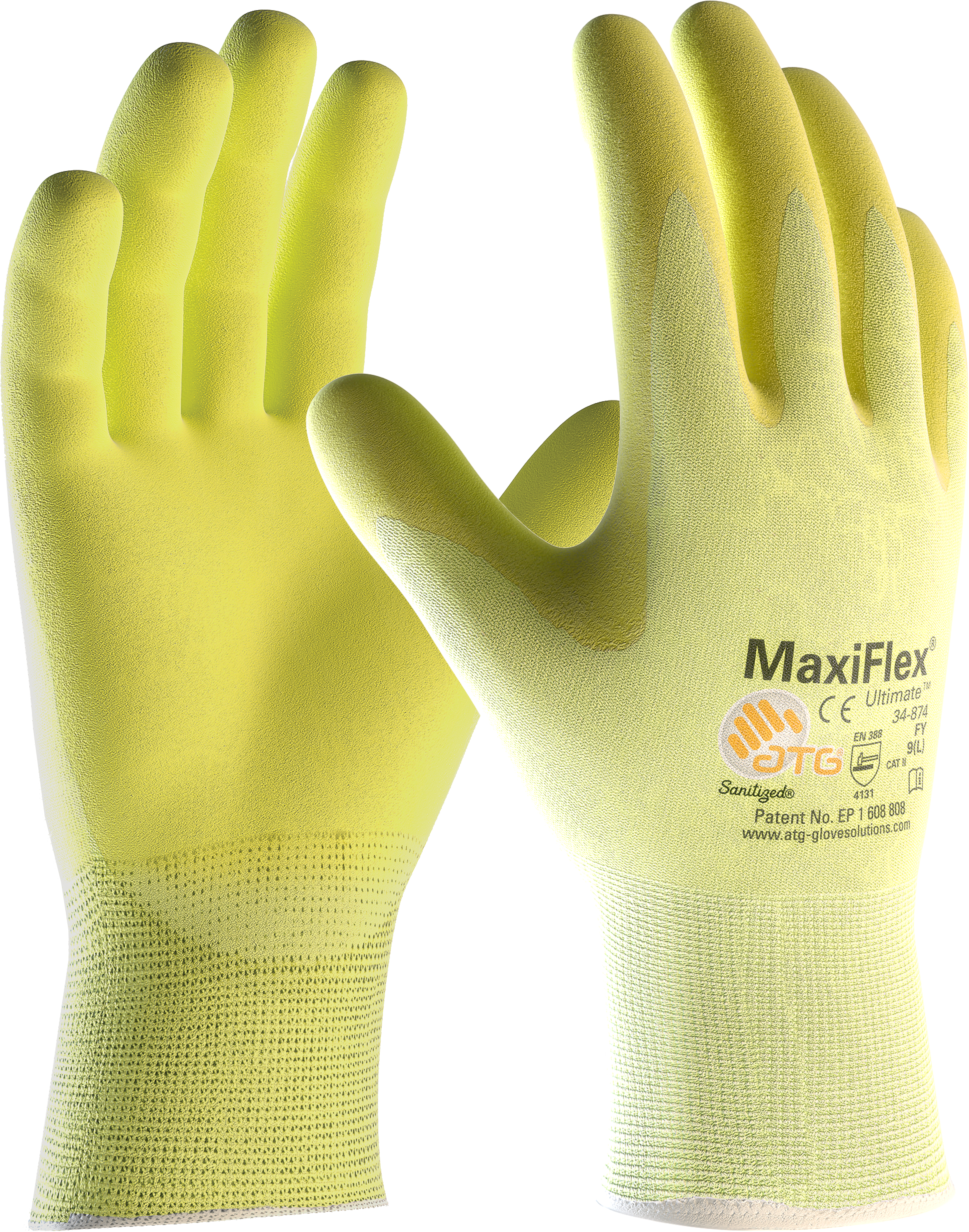 Rukavice MAXIFLEX ULTIMATE 34-874FY na stojan 06