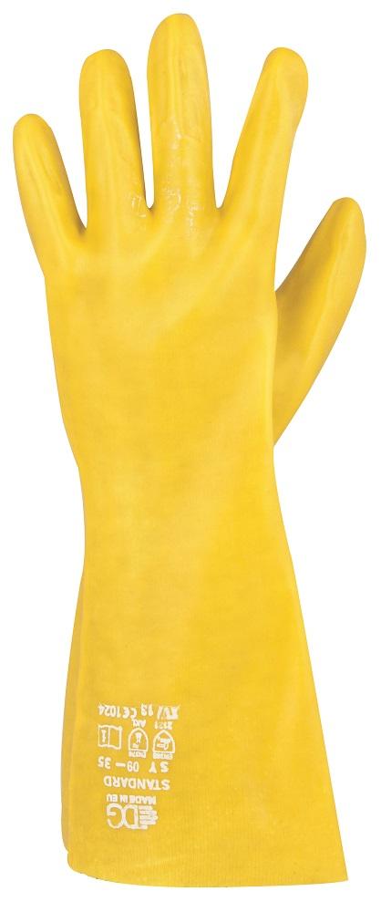 Rukavice STANDARD žluté 09