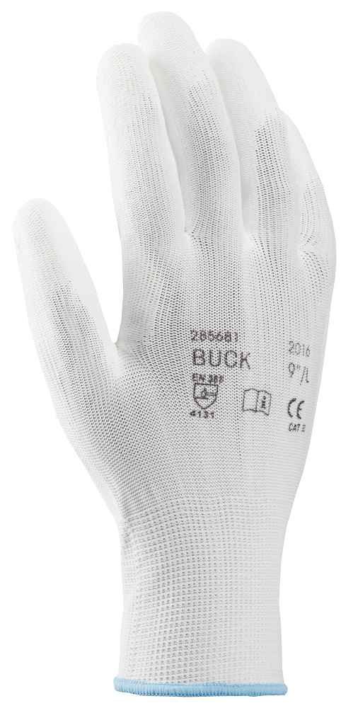 "Rukavice BUCK S ETIKETOU 08""/M 10/retail pack 12"