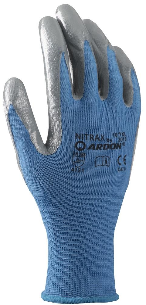 """Rukavice NITRAX velikost 07"""" S"""
