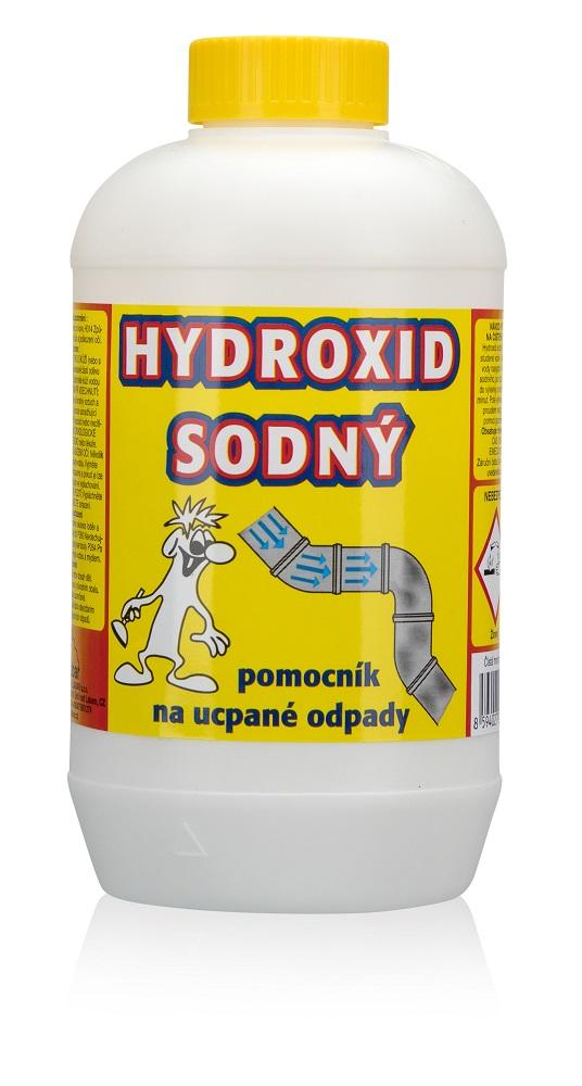 Čistič odpadu Hydroxid sodný/louh, 1kg 1kg