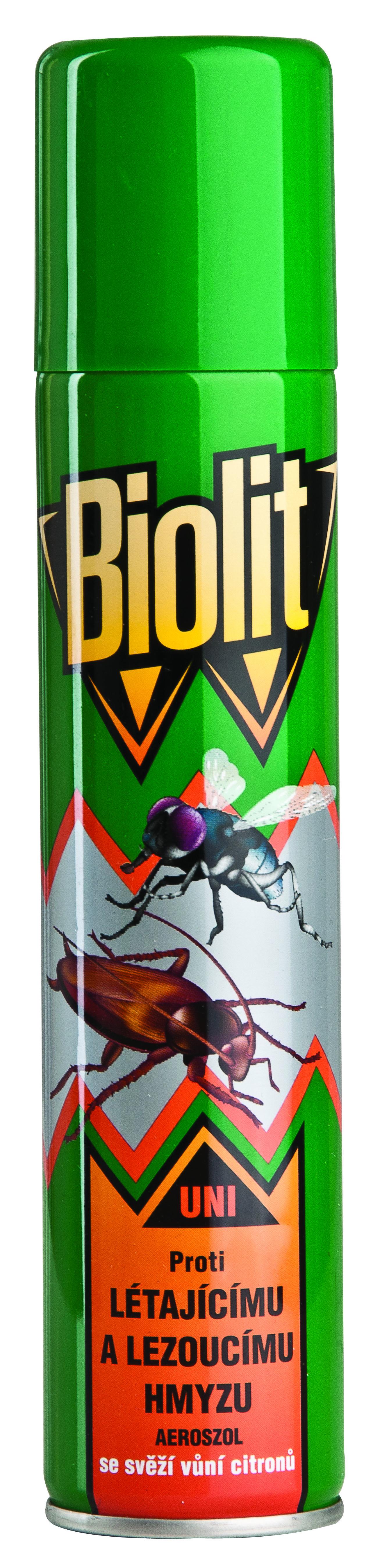 BIOLIT na létající a lezoucí hmyz, 200ml