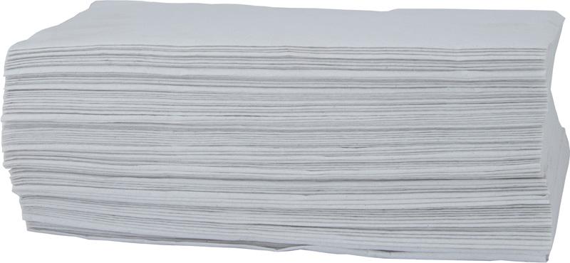 ZZ ručníky - bílé, dvouvrstvé (3000 ks)