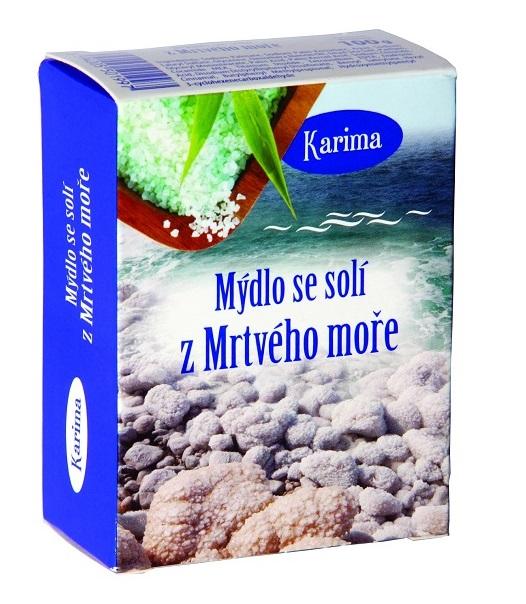 Mýdlo se solí z Mrtvého moře, 100g