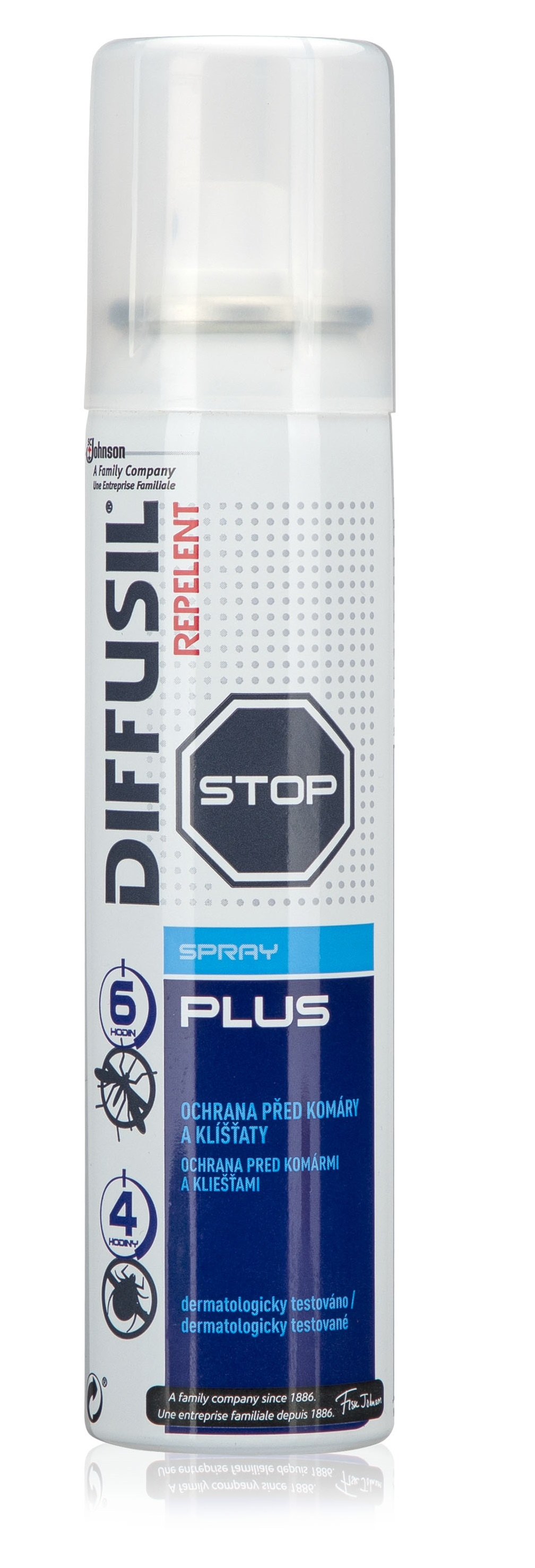 Repelent DIFFUSIL PLUS - sprej na tělo, 100ml 100ml