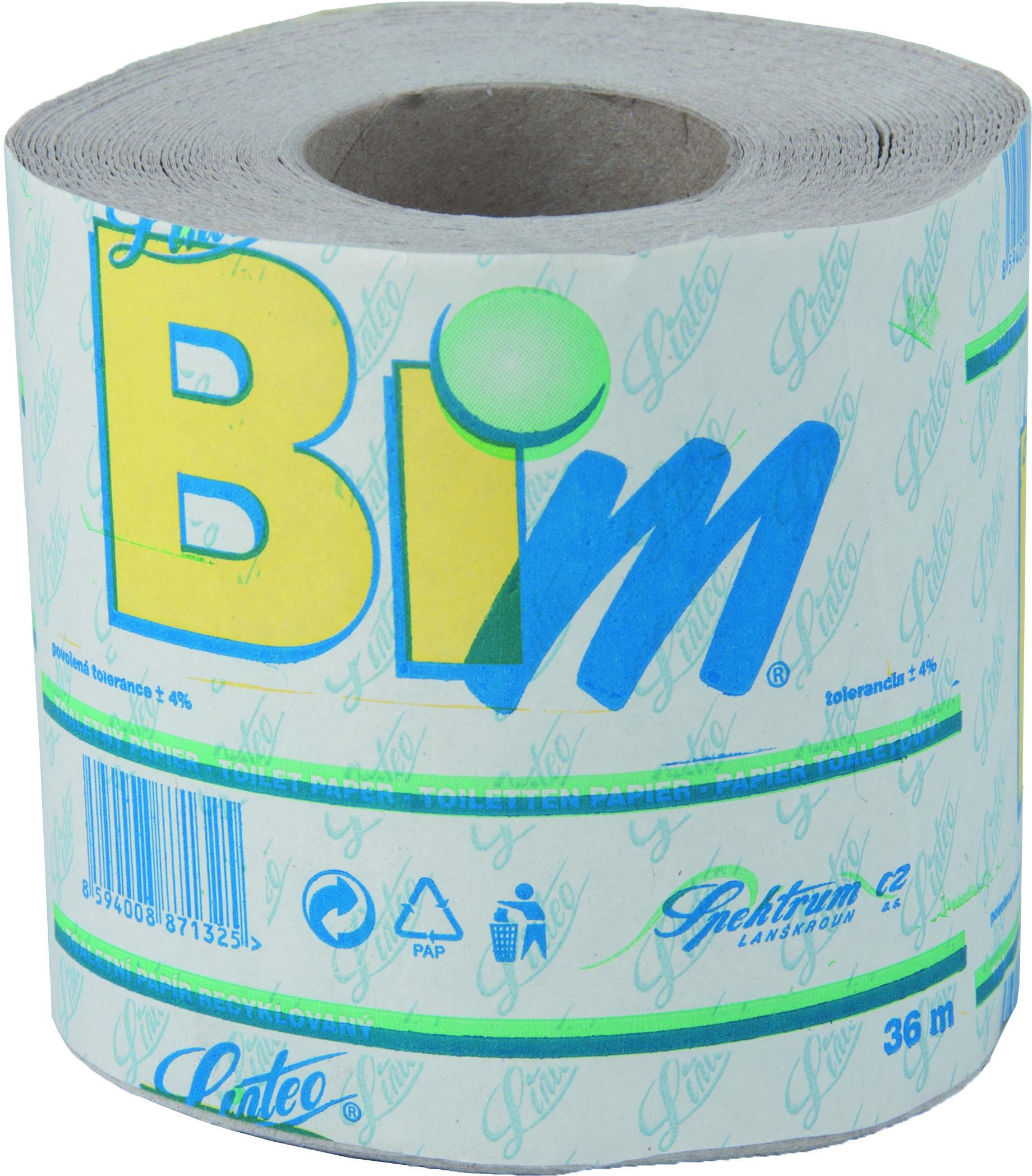 Toaletní papír (400 útržků, 36m)