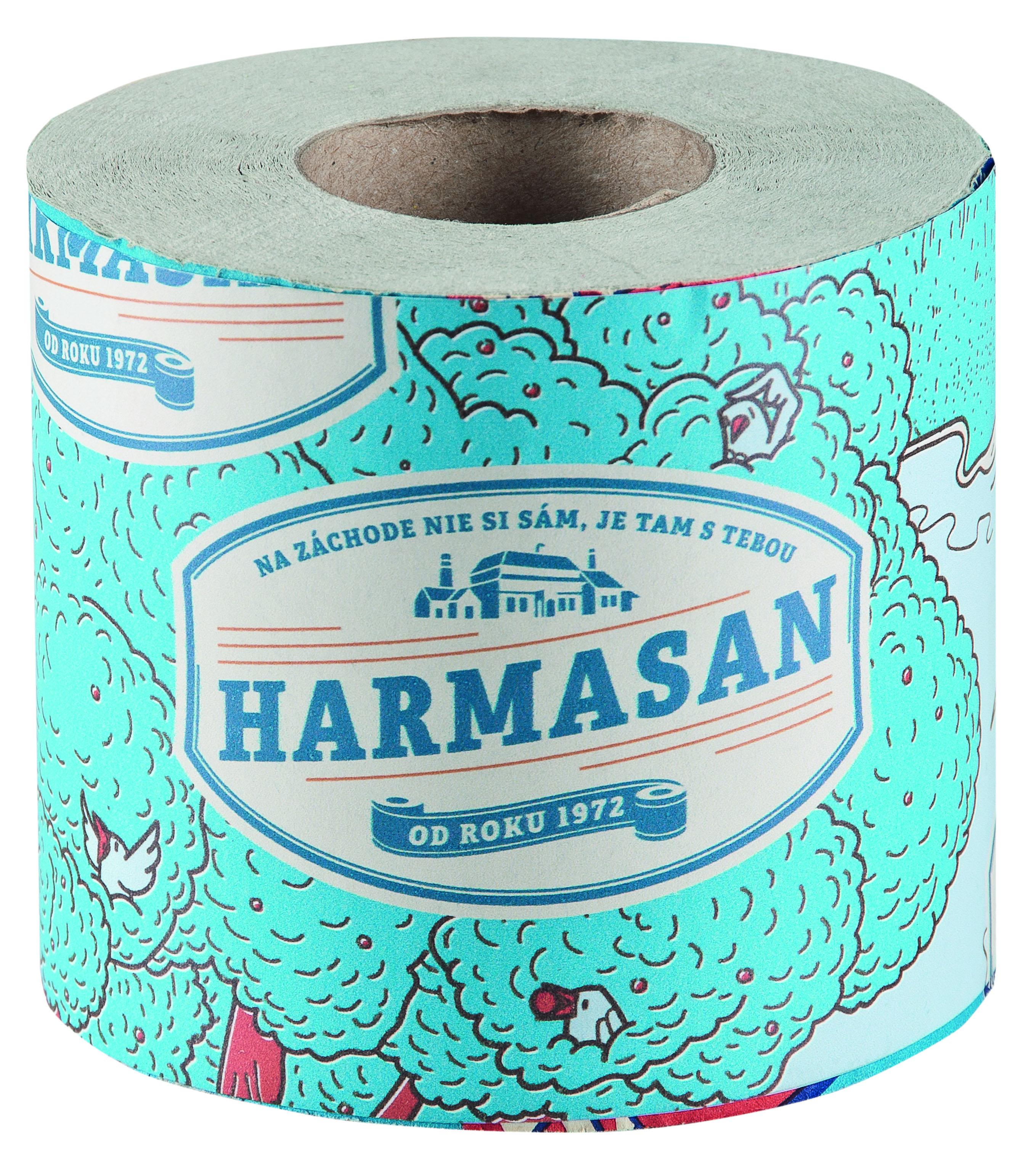 Toaletní papír HARMASAN, 1-vrstvý (1x50m)
