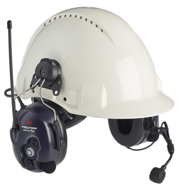 Sluchátka LITECOM PLUS k přilbě (446 Mhz)