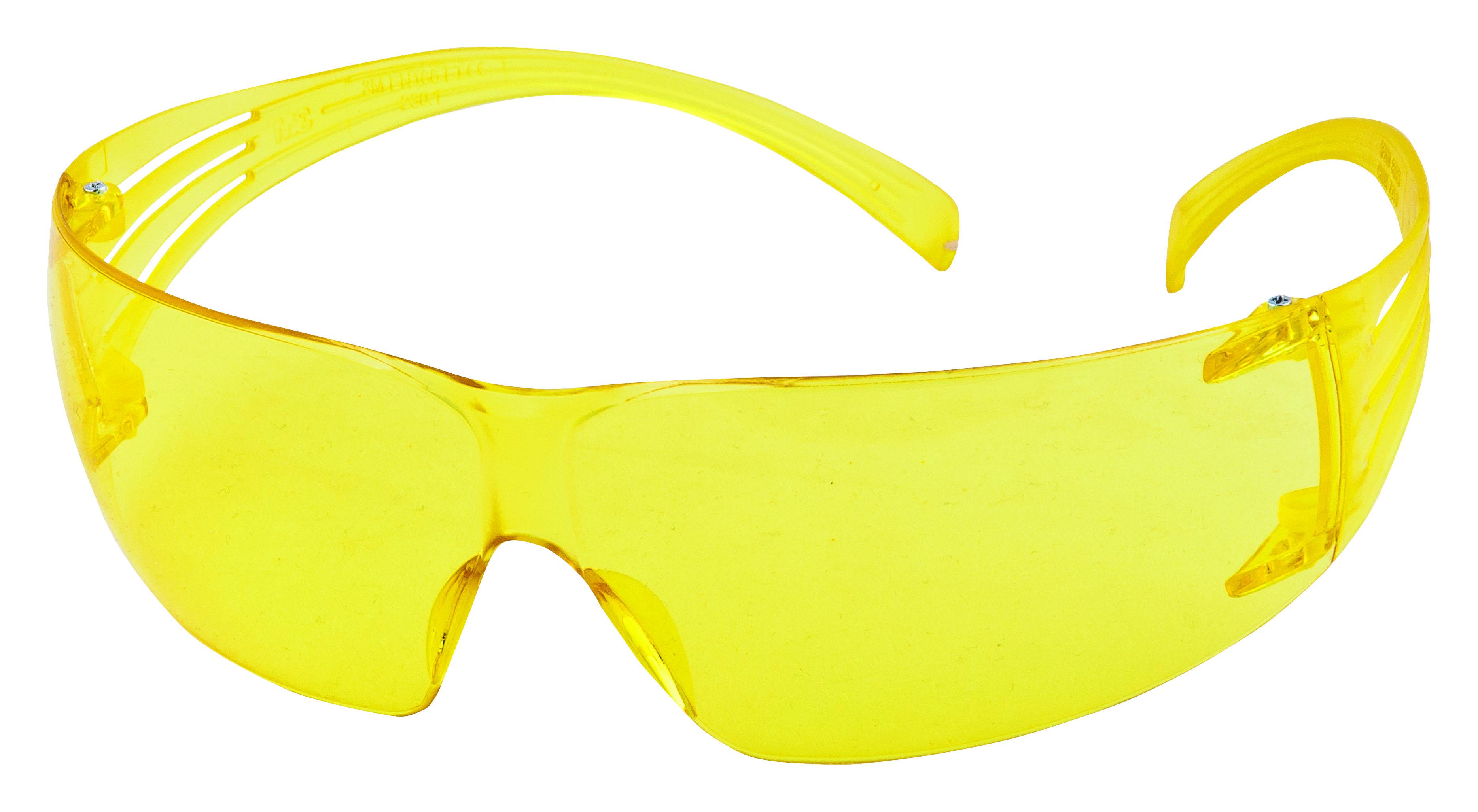 SF203AF-EU, Žluté polykarb. brýle SecureFit, povrch AS/AF