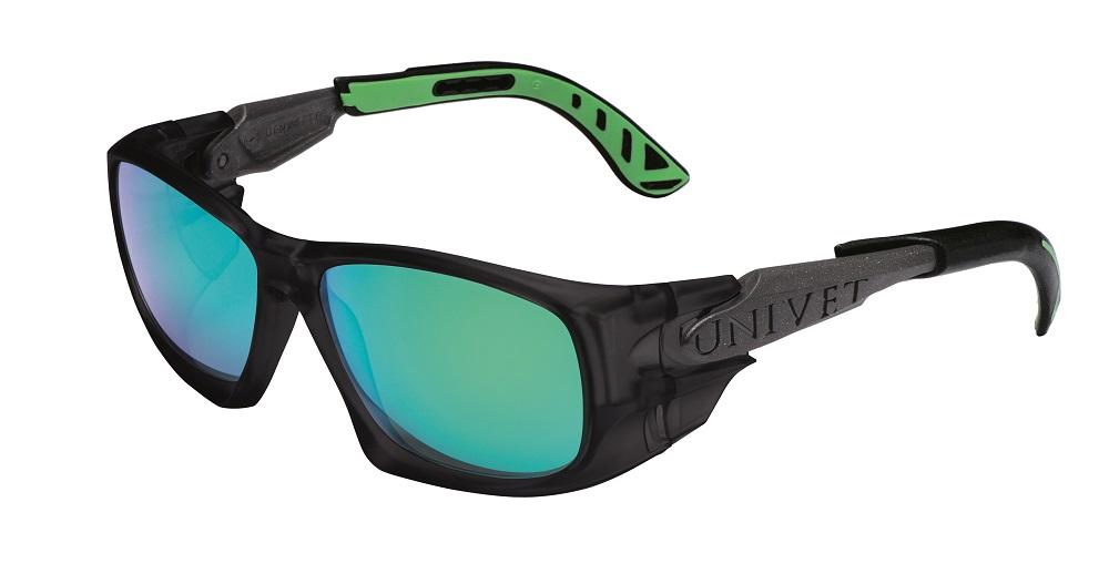 Brýle UNIVET 5X9 Green mirror 5X9.04.02.09