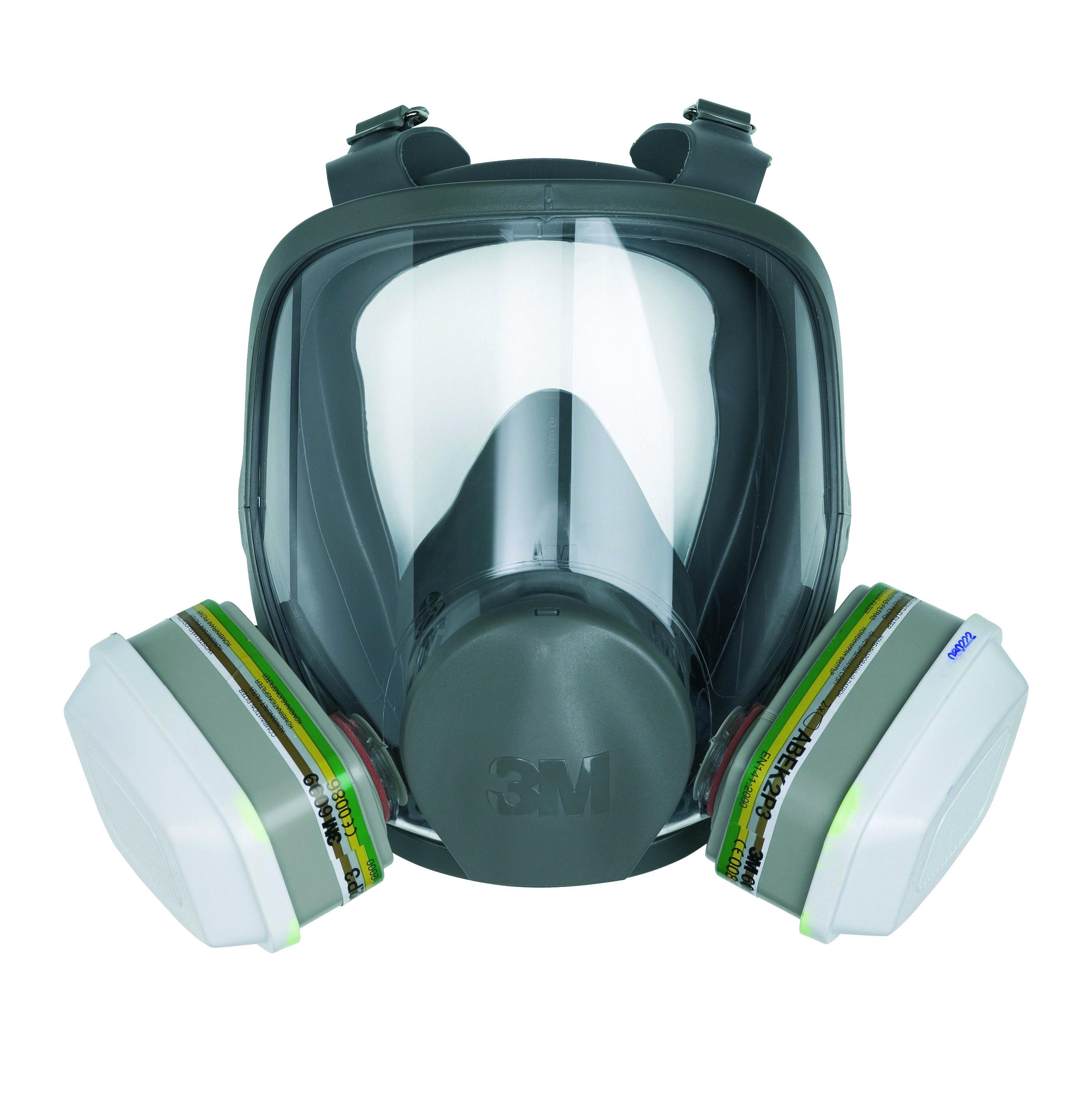 Celoobličejová maska 3M 6900 L