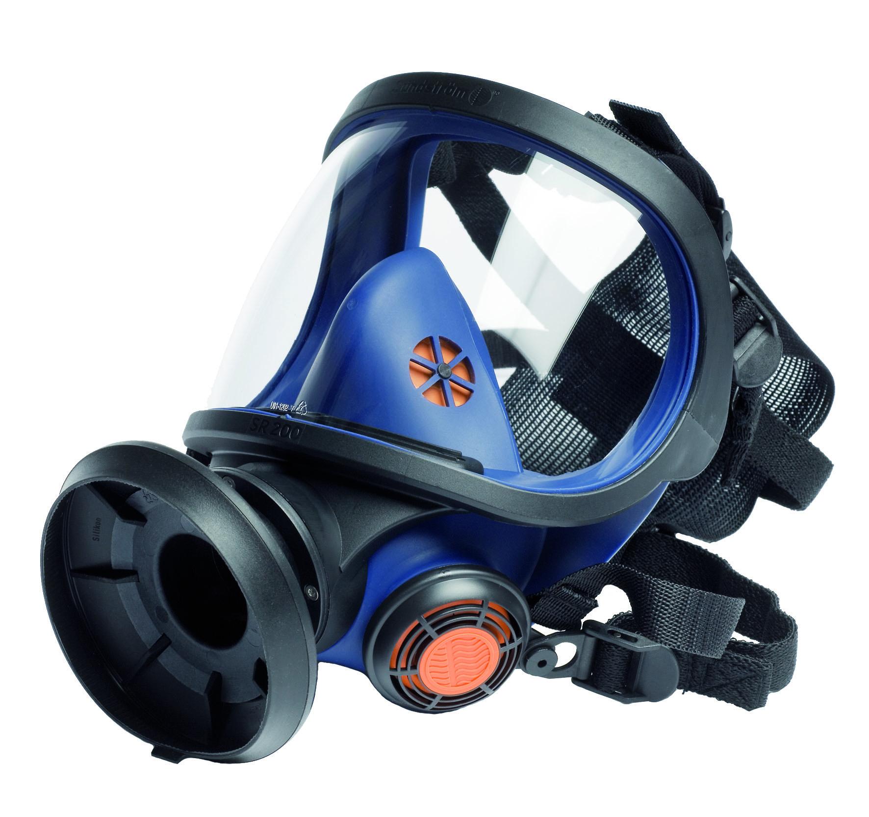 Celoobličejová maska Sundström SR 200 - polykarbonátový zorník G