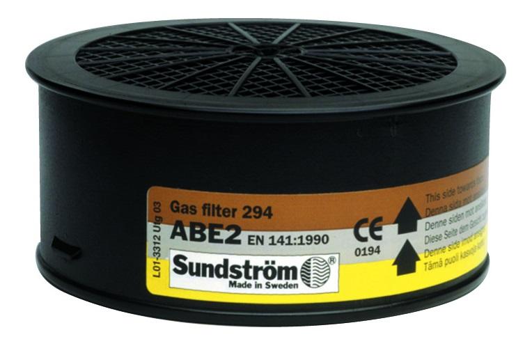 Filtr SUNDSTRÖM SR 294 ABE2 - pro polomasky a celoobličejové masky H02-3312