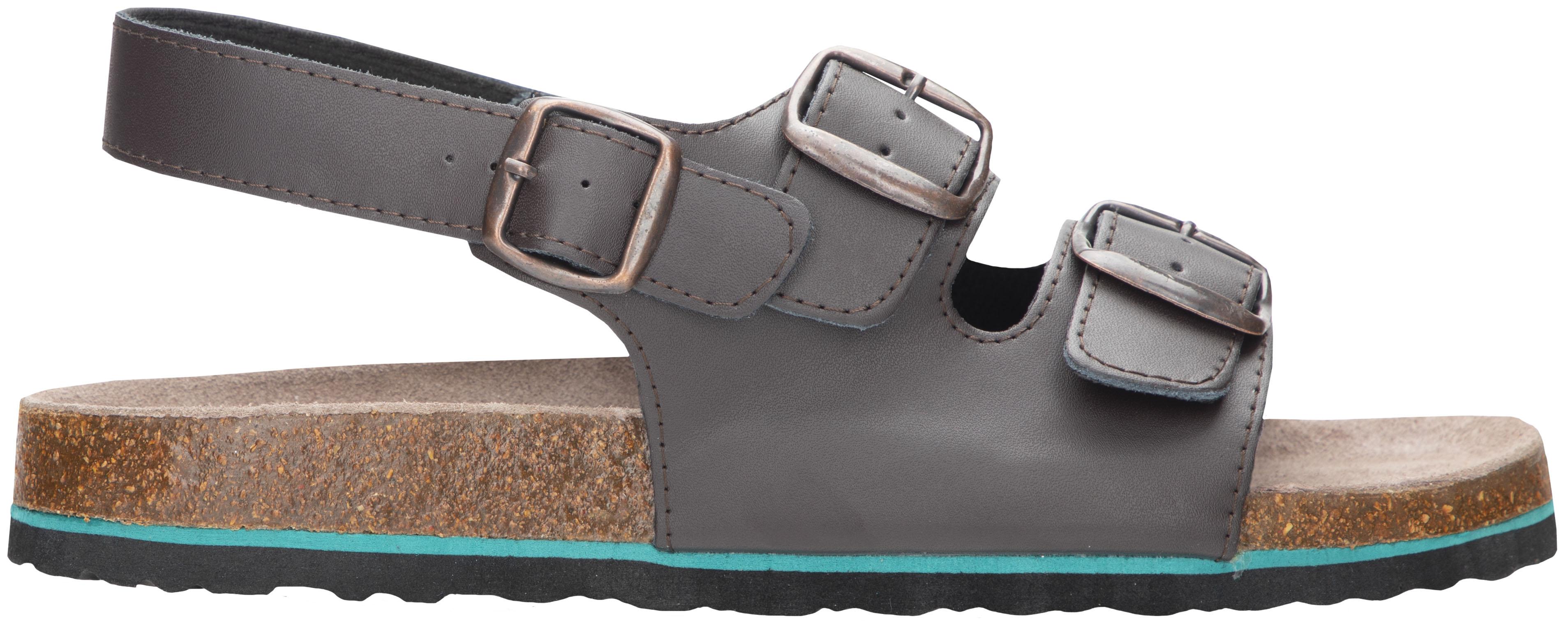 Sandál MERKUR hnědý 36