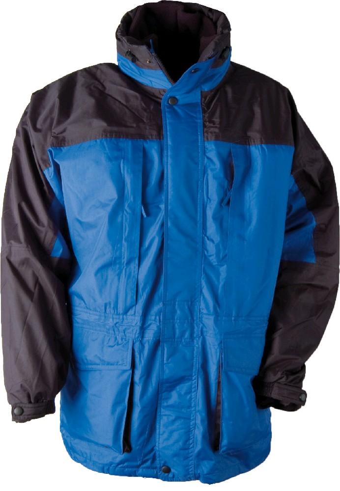 Bunda zimní URAL pánská, modro-černá XL