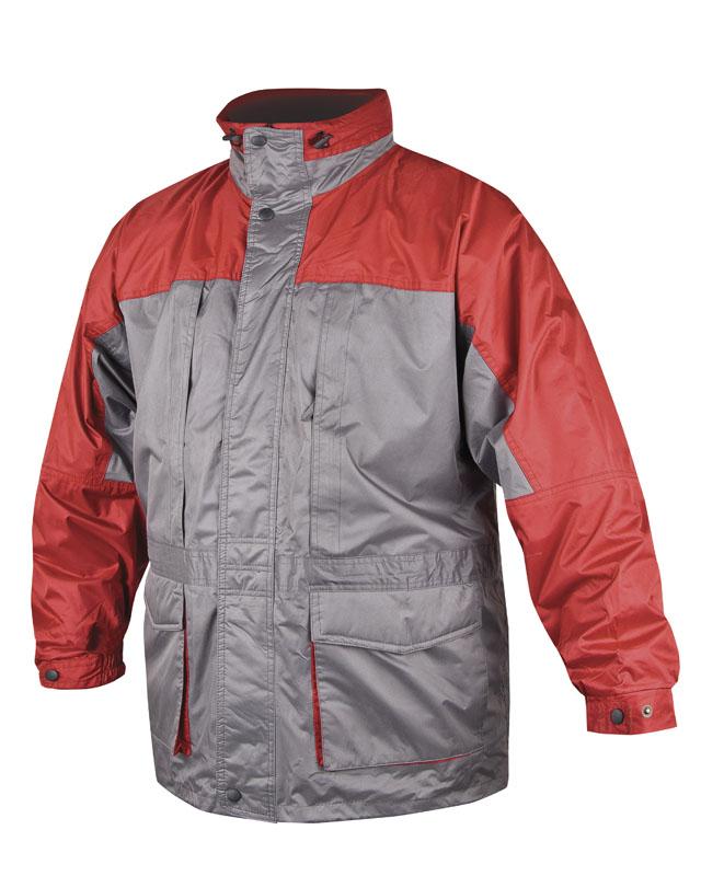 Bunda zimní URAL pánská, červeno-šedá XL