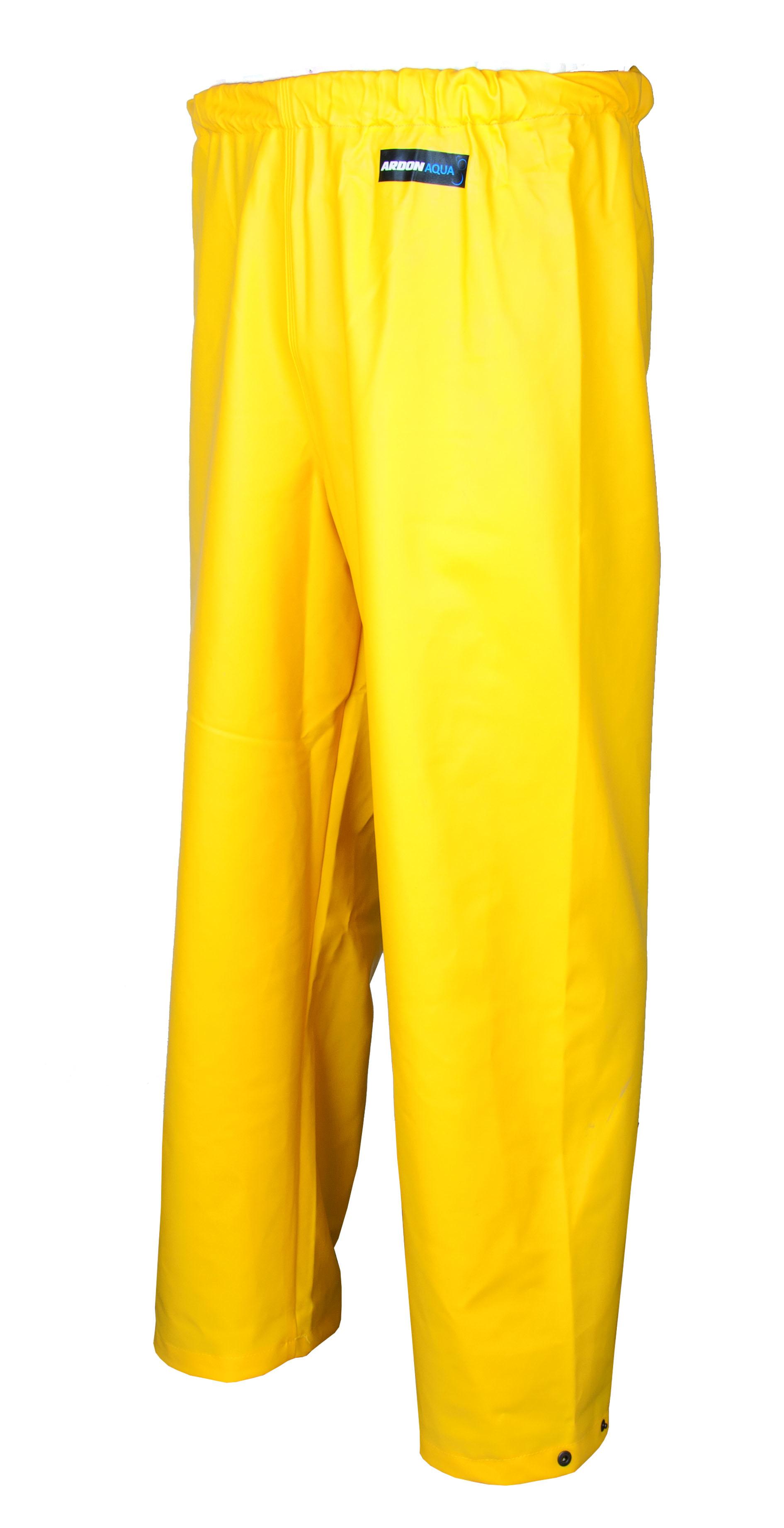 Kalhoty pas ARDON AQUA 112 žluté L