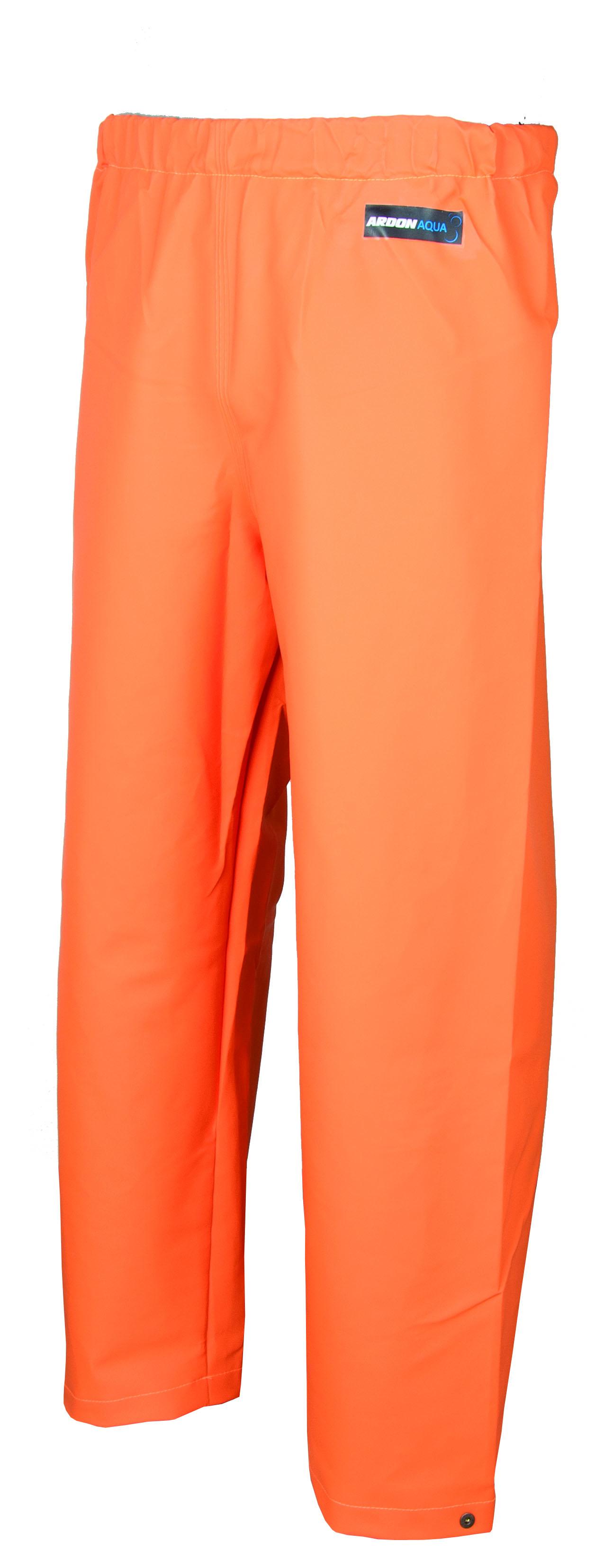 Kalhoty pas ARDON AQUA 112 oranžové L