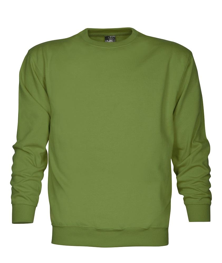Mikina DONA zelená, 300g/m2 L