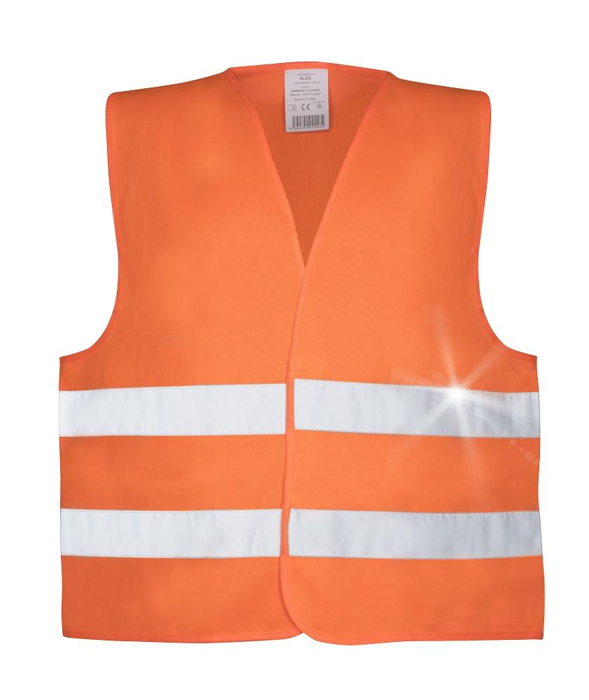 Vesta výstražná oranžová ALEX L
