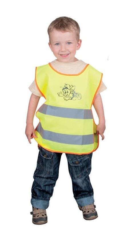 Dětská reflexní vesta ALEX žlutá M