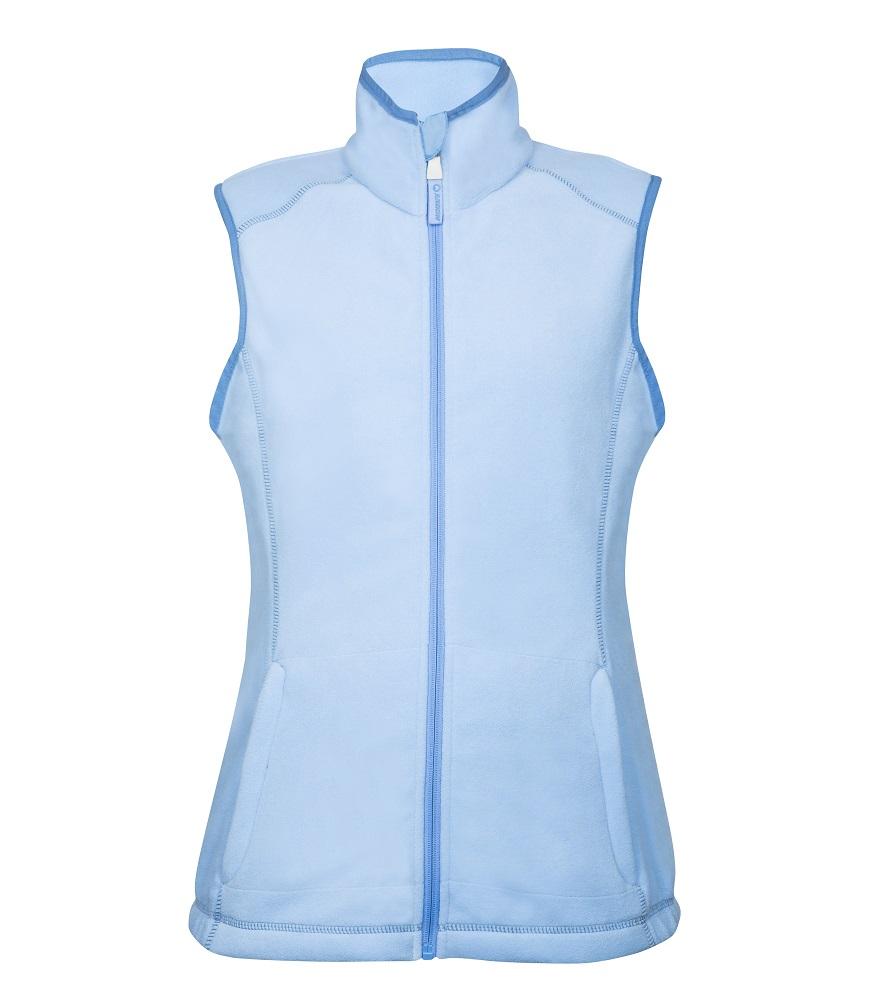 Vesta fleece JANETTE dámská, modrá L