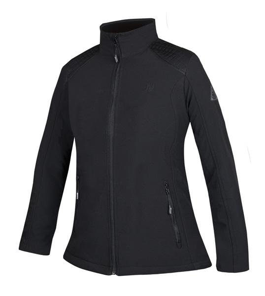 Adelle  černá soft. bunda dámská L