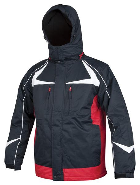 ARPAD páns. zim. bunda modro-červená L