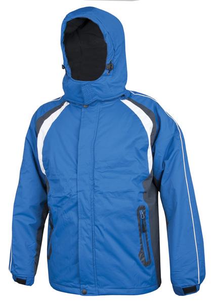 ALVIN páns. zim. bunda modro-šedá L