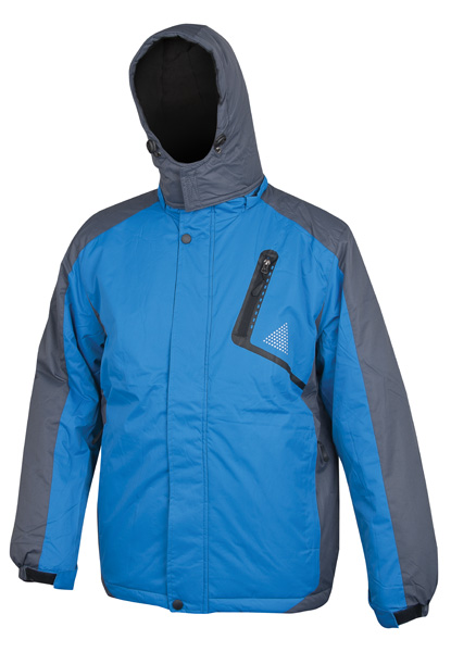 YORK páns. zim. bunda modro-šedá M