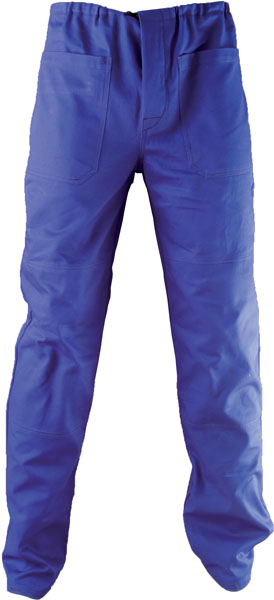 Kalhoty pas KLASIK středně modré 42
