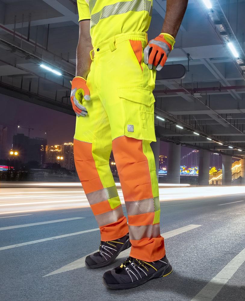 Kalhoty pas SIGNAL žluto-oranžová 44