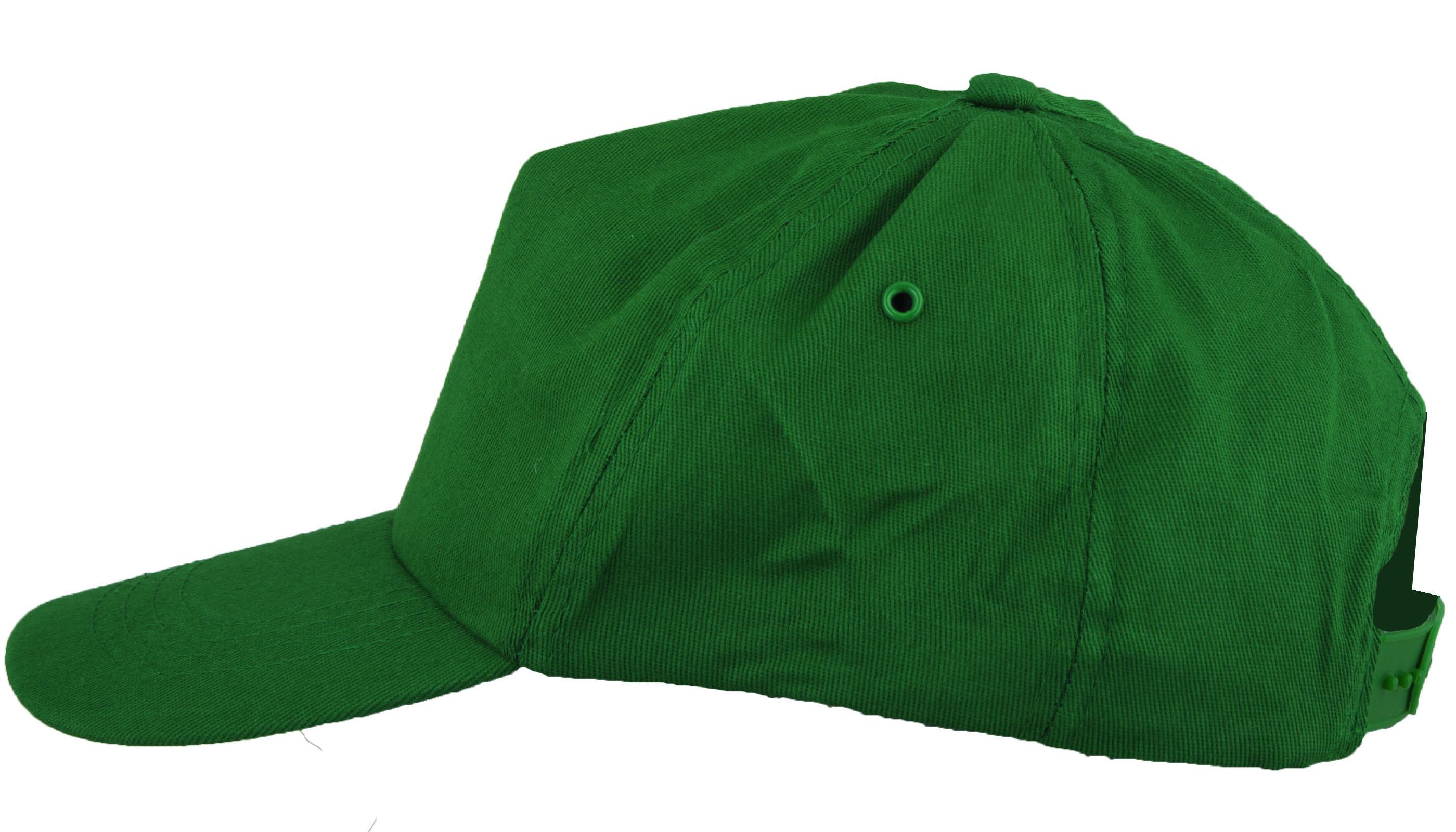 Čepice kšilt LION zelená