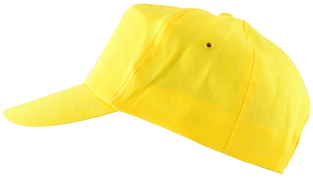 Čepice kšilt LION žlutá