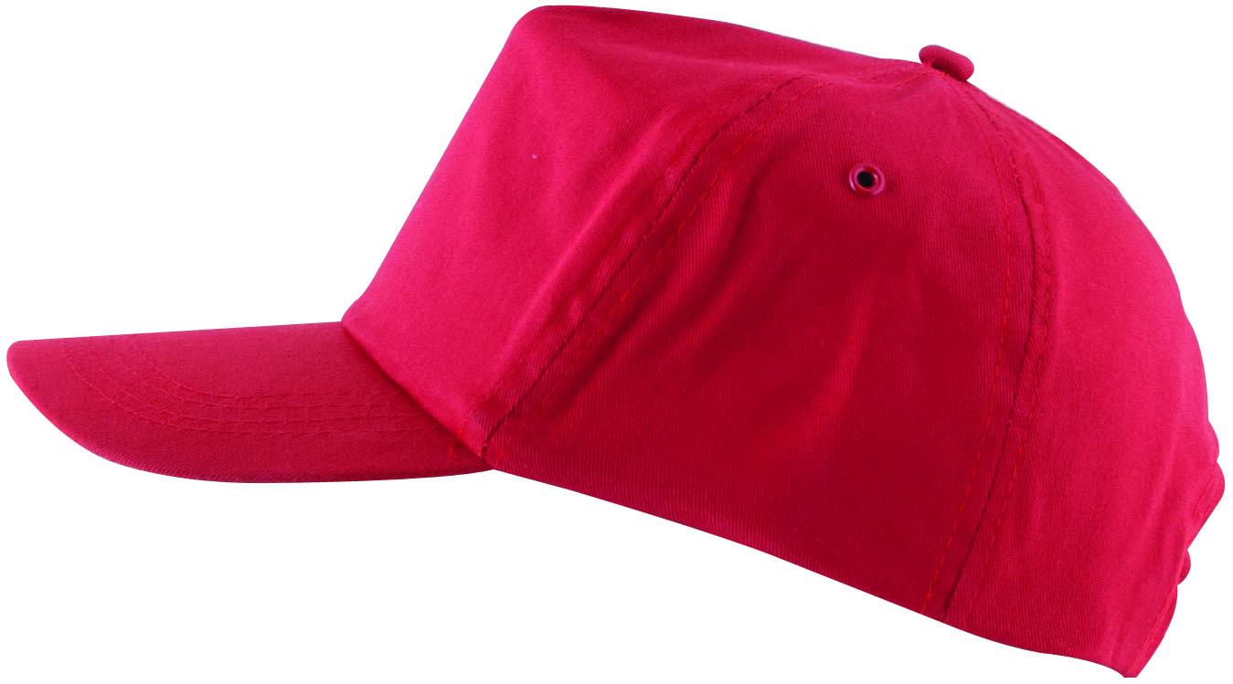Čepice kšilt LION červená