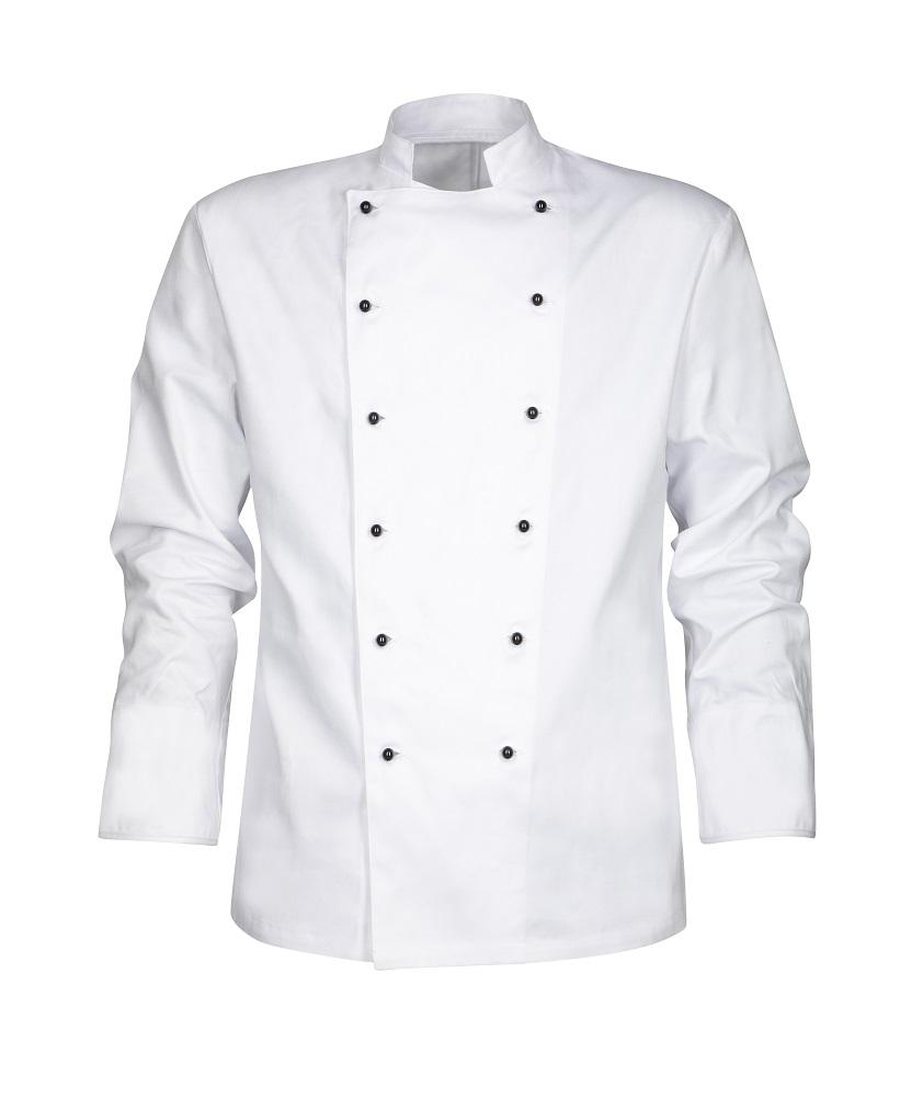 Kuchařský RONDON bílý 40