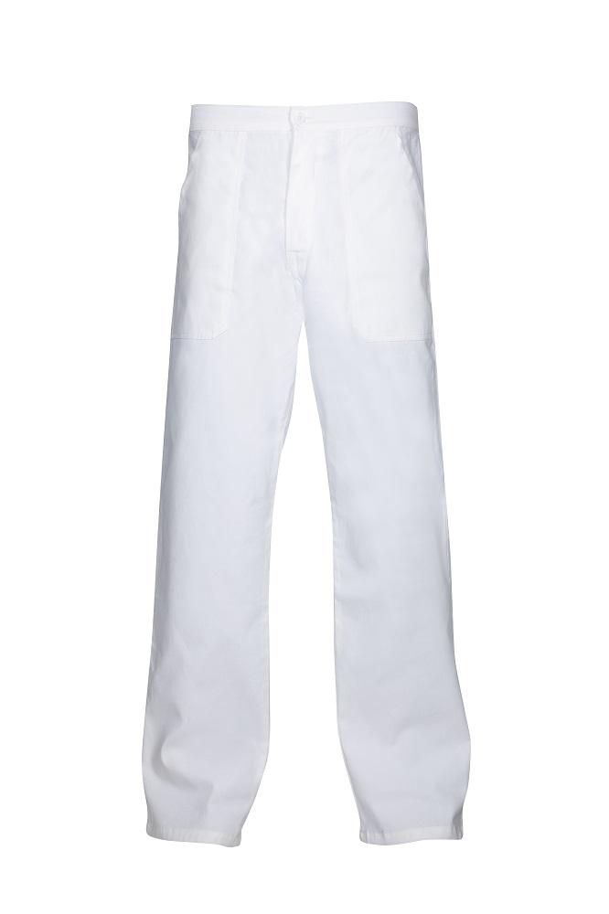 Kalhoty pánské SANDER bílé 46