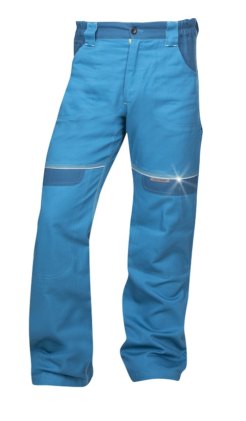 Kalhoty pas COOL TREND Středně modré 46