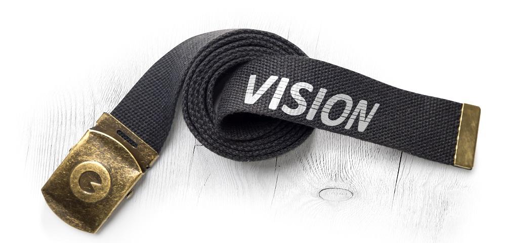 Opasek VISION černý