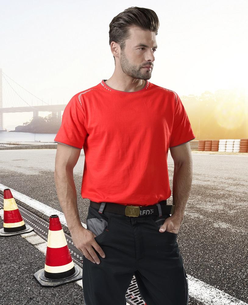 Tričko R8ED+ červené L