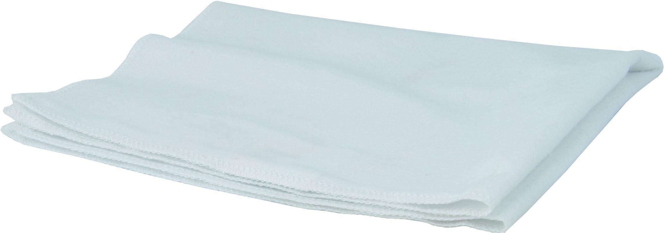 Prachovka flanelová bílá, 35x40cm