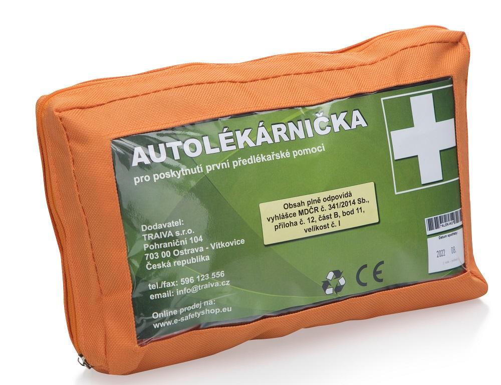 Autolékárnička textilní vel.č.1